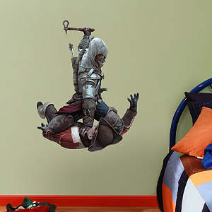 Connor Attack: Assassin's Creed III - Fathead Jr. Fathead Wall Decal